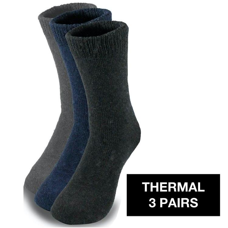 Thermal zeķes (3 pāri)
