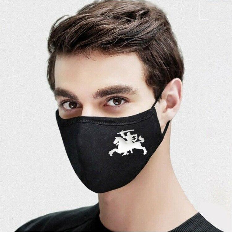 Vytis divslāņu maska