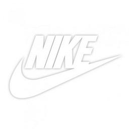 Nike uzlīme bez fona 8 x 4 cm