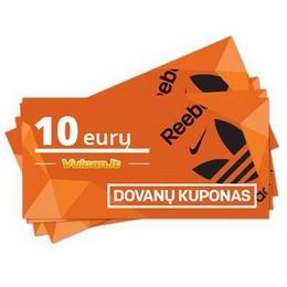 Dovanų kupons 10 €