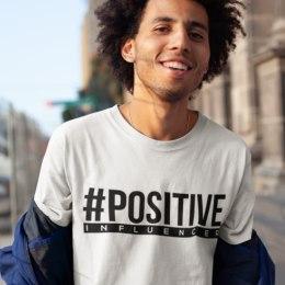 Positive Influentoru T-krekls