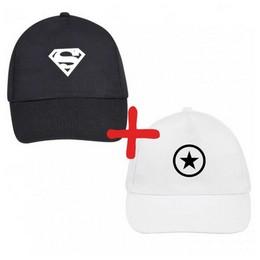 2 cepures: Superman Star