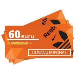 Dovanų kupons 60 €