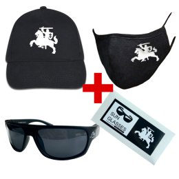 Vytis cepure + brilles + maska